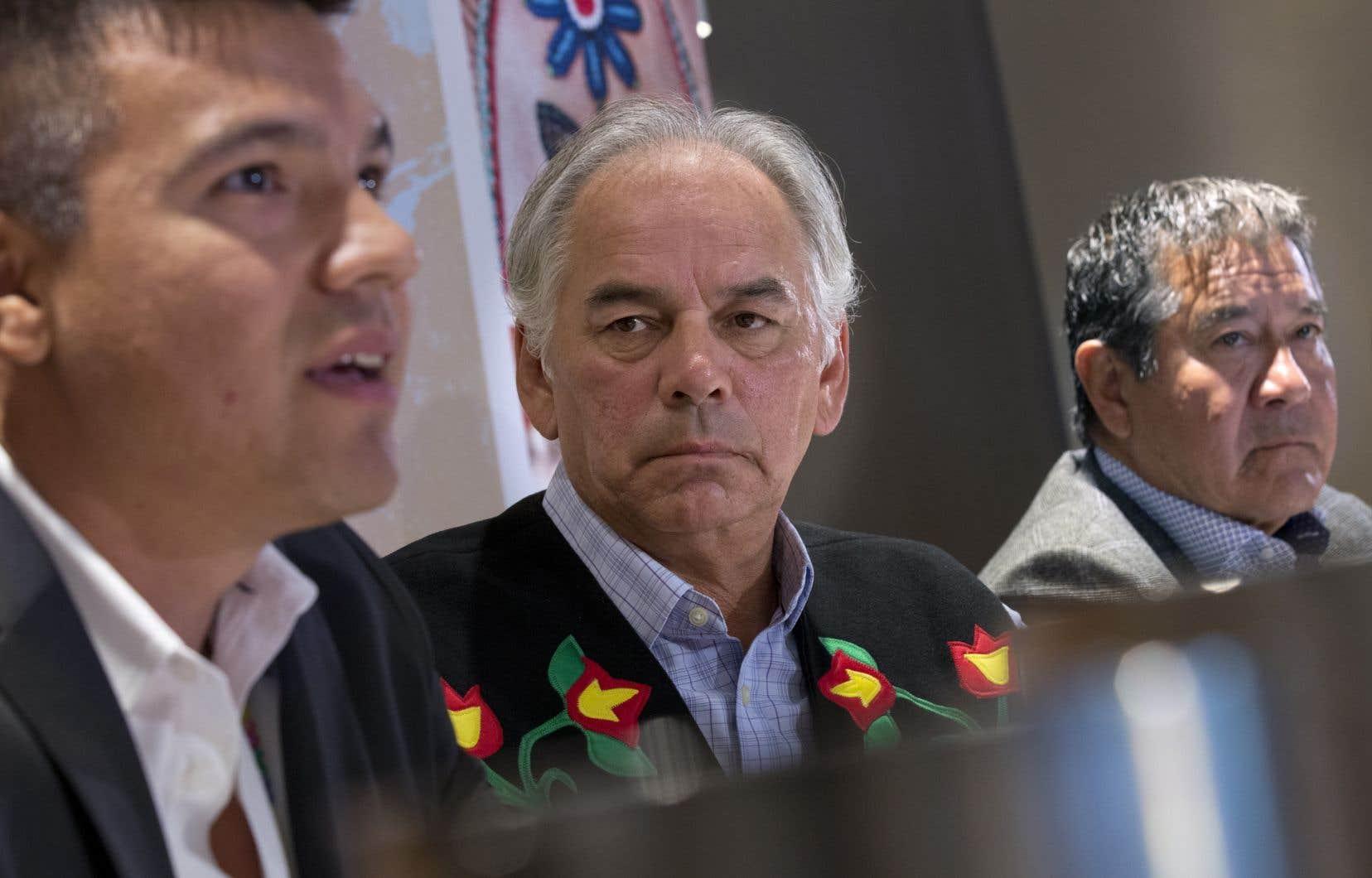 Ghislain Picard, chef de l'Assemblée des Premières Nations Québec-Labrador (APNQL)