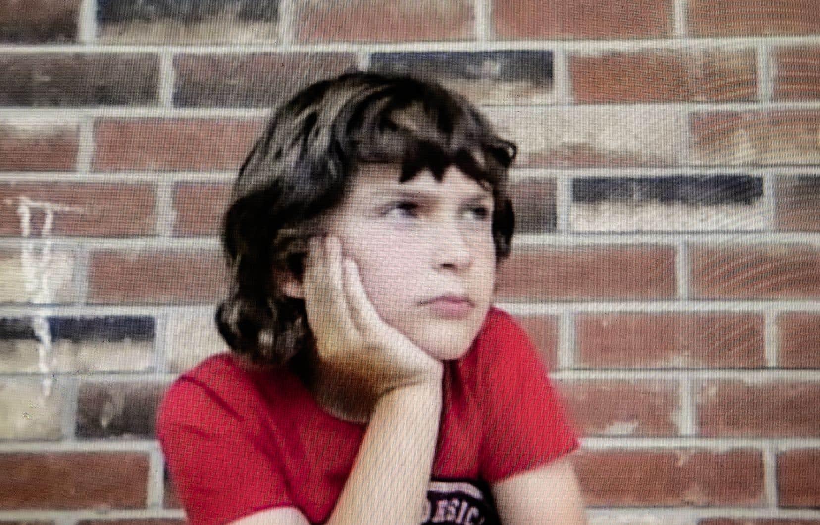 Léonard, 8 ans, s'est prêté au jeu de la philocréation.