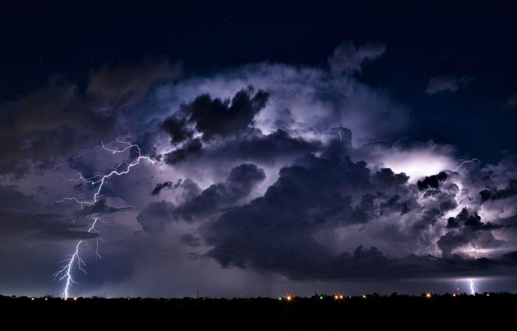 Les éclairs meurtriers sont assez fréquents en Inde pendant la mousson.