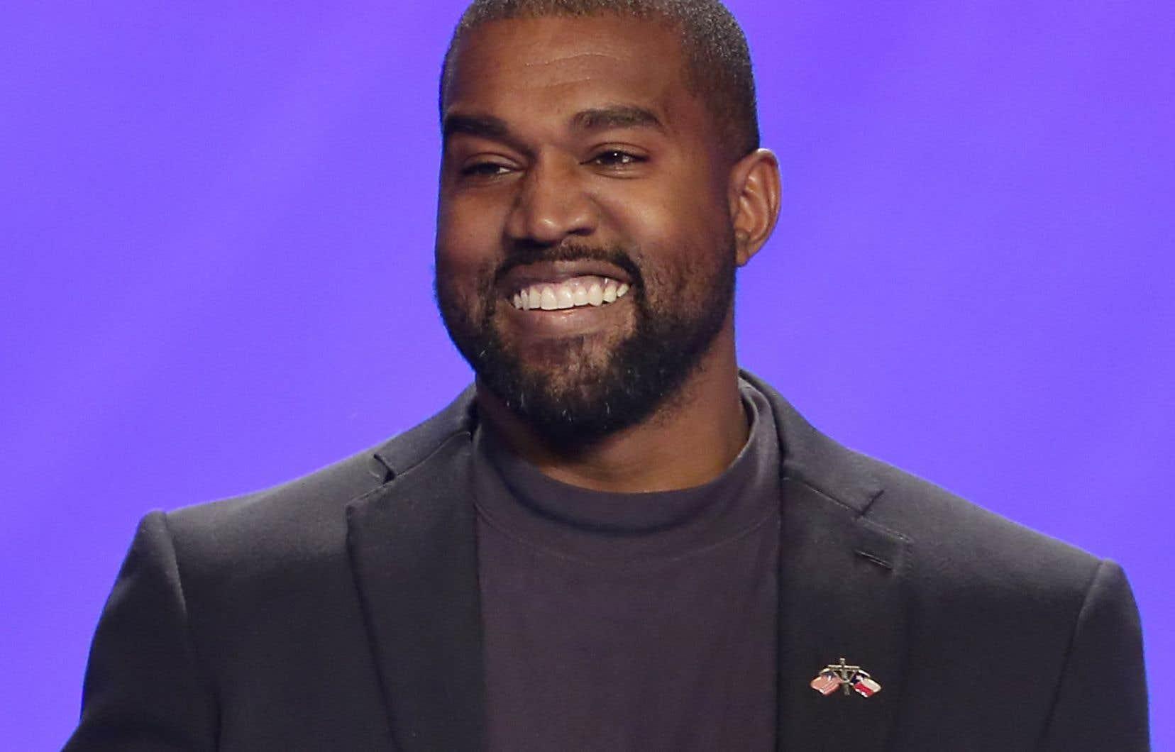 Le rappeur américain Kanye West