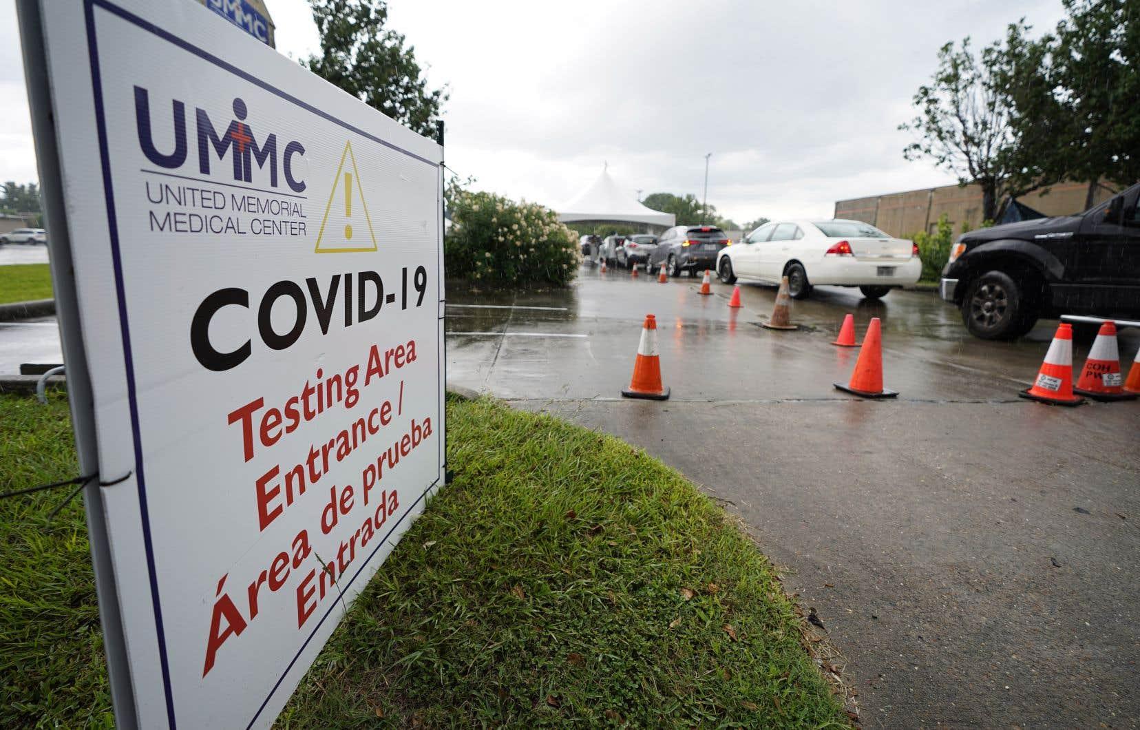 Mardi, Houston a atteint un total de 37 776 cas de COVID-19 détectés depuis le début de la pandémie.