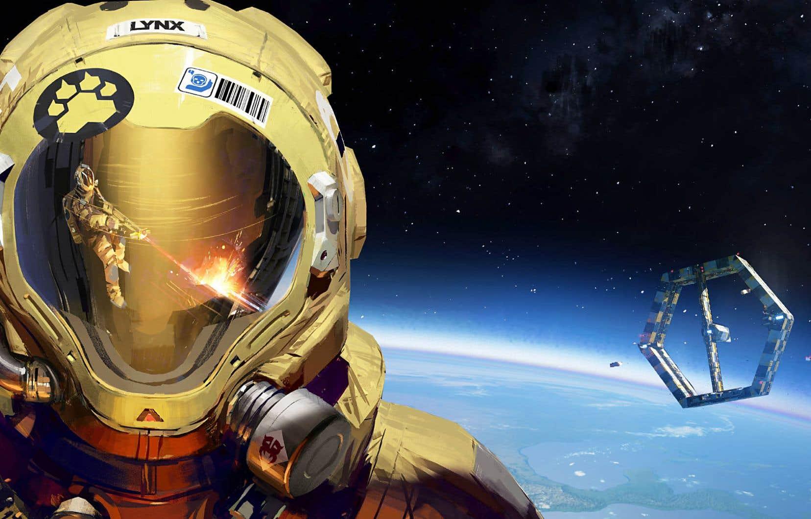 En sous-texte, «Shipbreaker<em>»</em> se veut une satire de ce que pourrait être une industrie spatiale monopolisée par le secteur privé gouvernant une main-d'oeuvre déshumanisée.