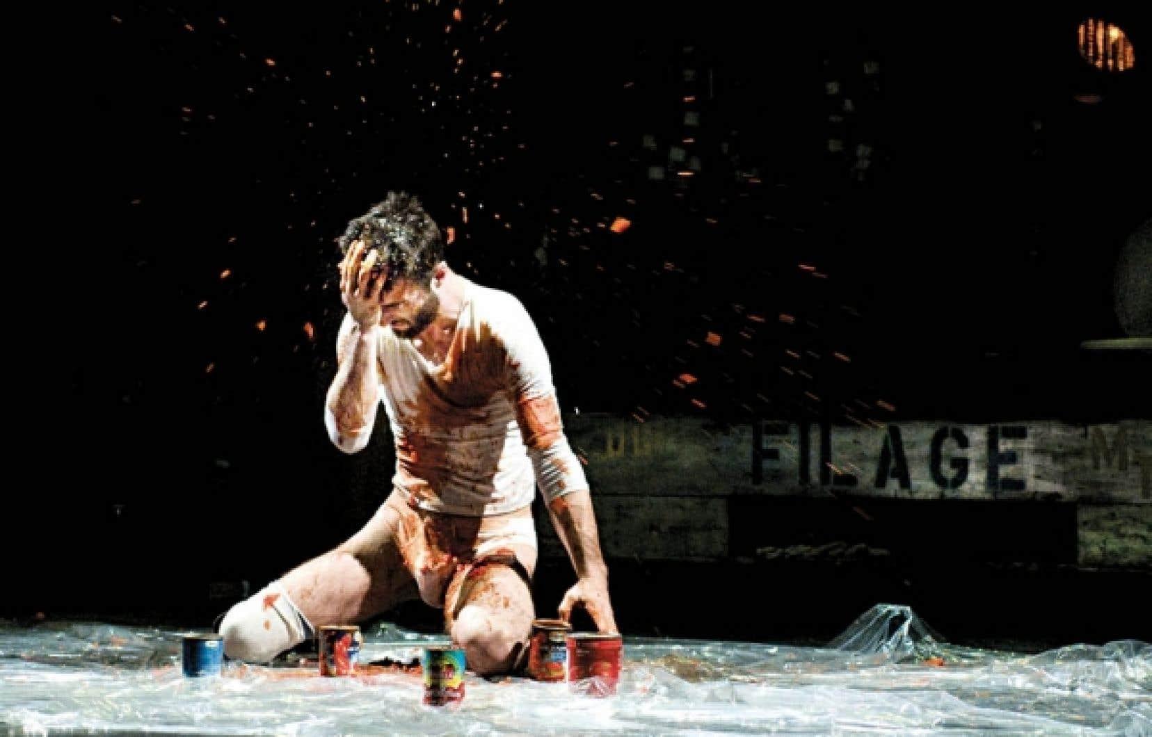 Le danseur Jacques Poulin-Denis<br />