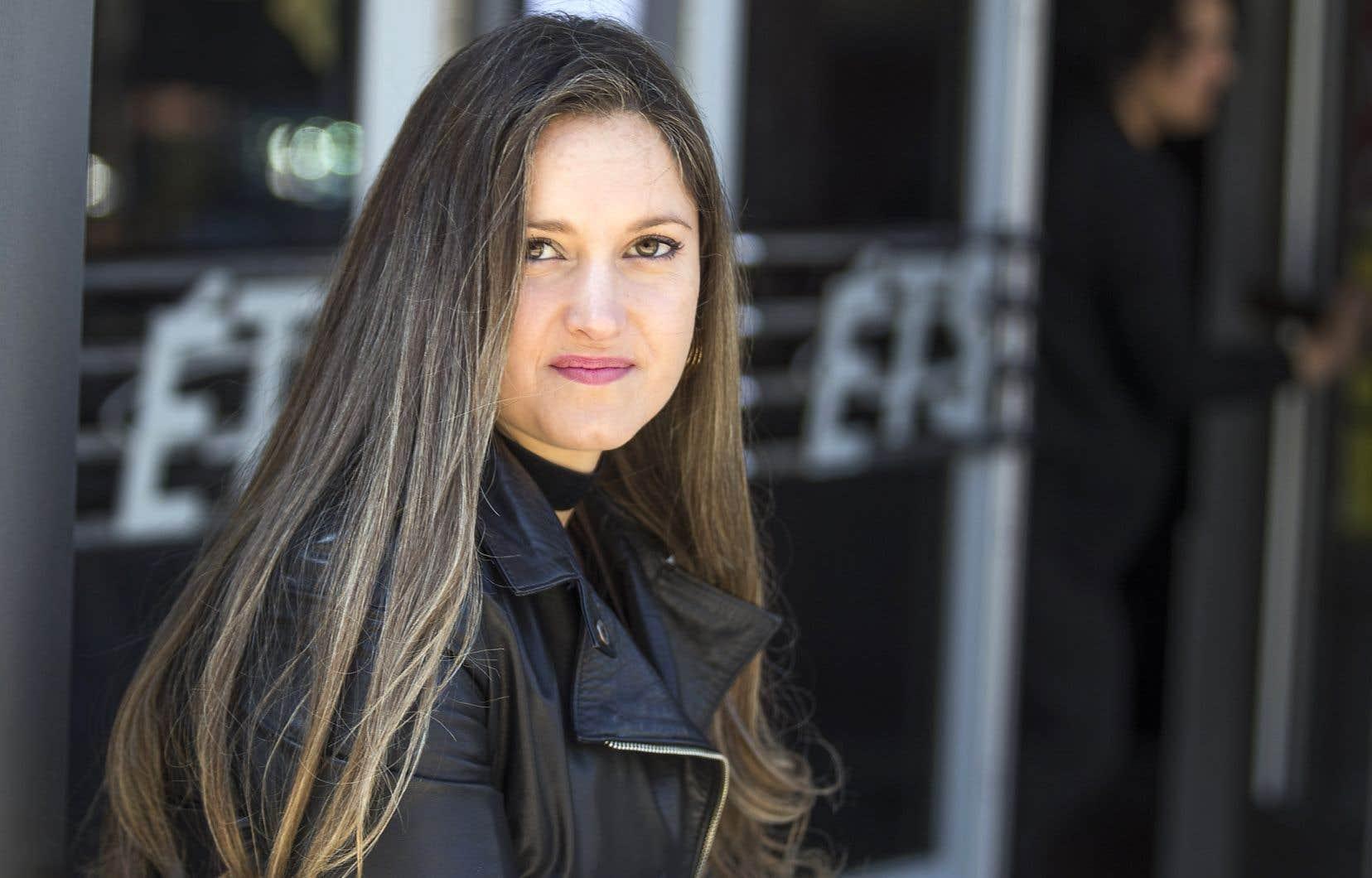 Kimberley Marin s'était adressée à la Commission des droits de la personne après l'outrage qu'elle avait subi alors qu'elle était étudiante.