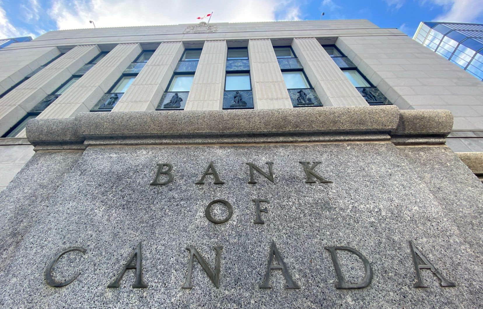 Le taux d'intérêt directeur de la banque centrale se situe à 0,25% depuis mars, date à laquelle il a été abaissé en raison des conséquences économiques de la pandémie de COVID-19.