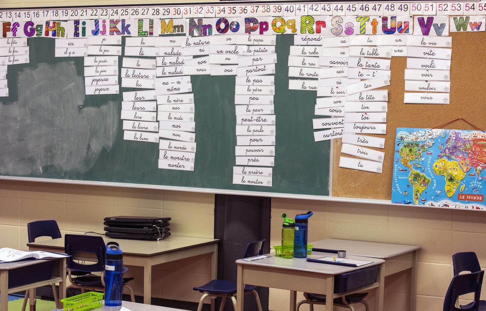 L'Ordre des orthophonistes et audiologistes du Québec croit que le gouvernement Legault doit mettre en place diverses mesures dans le réseau scolaire pour venir en aide à ces enfants laissés pour compte.