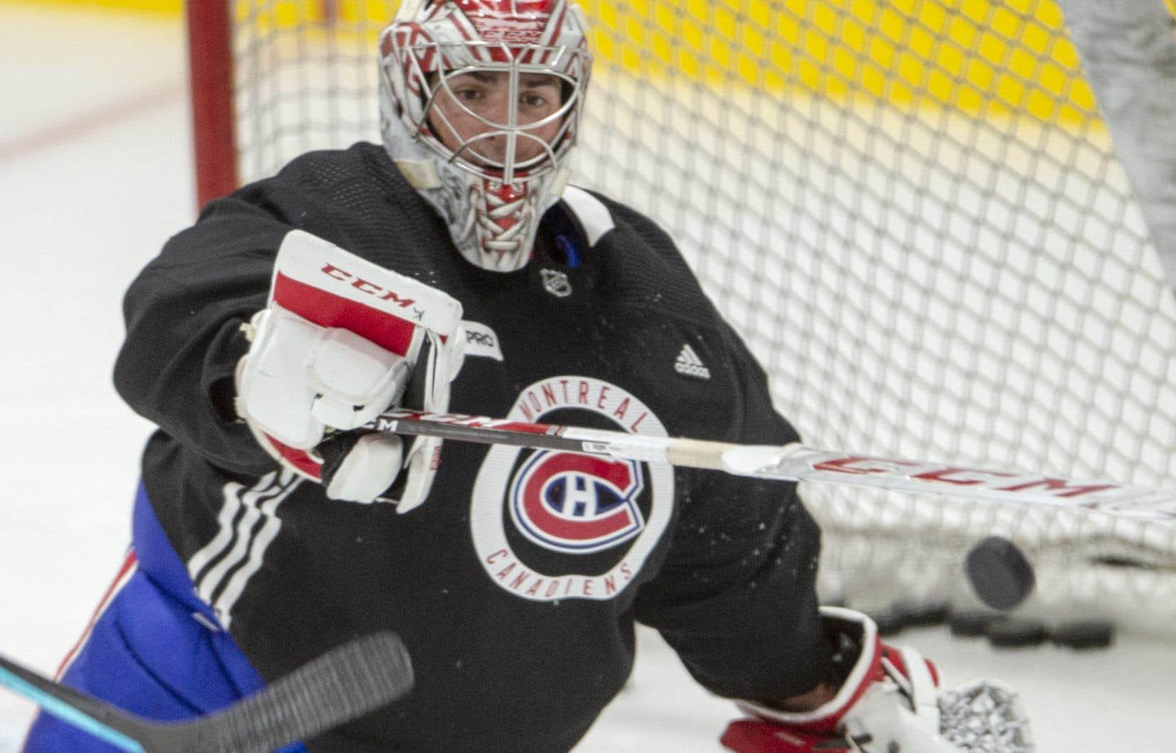 Le choix du réserviste de Price en prévision de la série de qualification n'est pas encore fait, selon l'entraîneur-chef du Canadien.