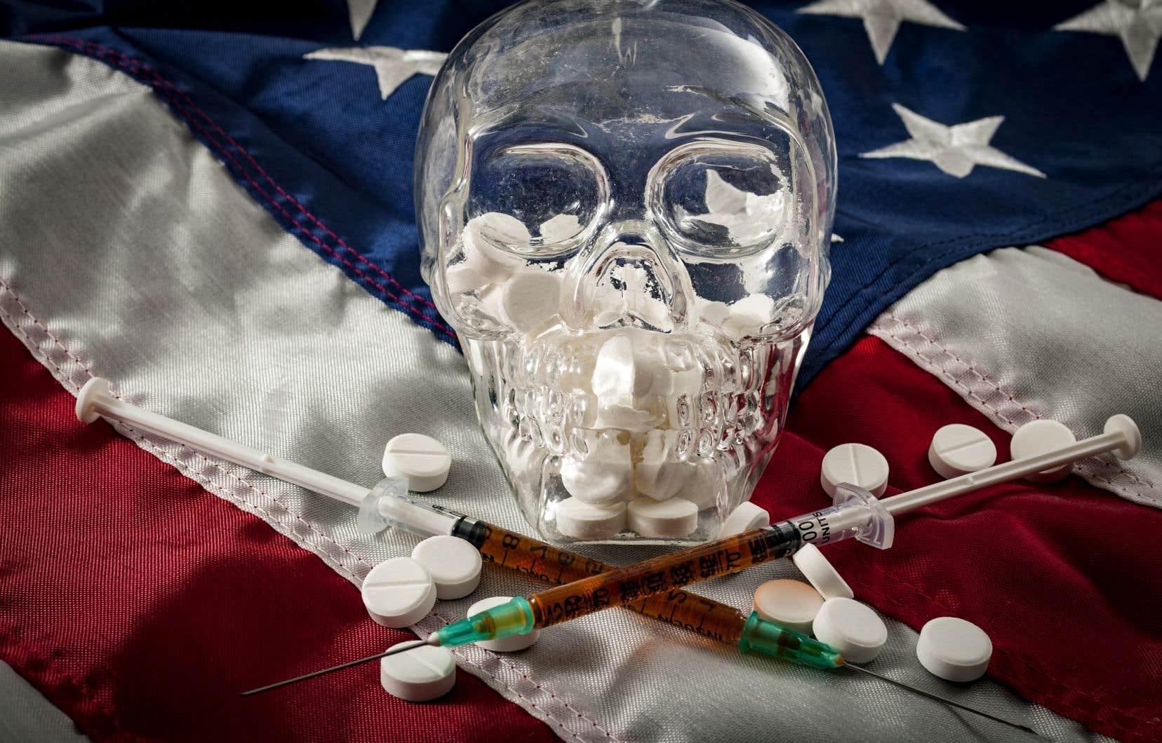 Selon une analyse interne de la Maison-Blanche, le nombre de décès par surdose a augmenté de 11,4% au cours des quatre premiers mois de l'année.