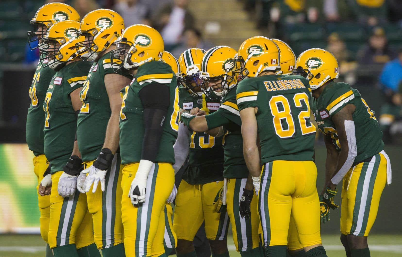 En attendant que le processus du choix d'un nouveau nom soit complété, le club utilisera «EE Football Team» et «Edmonton Football Team».