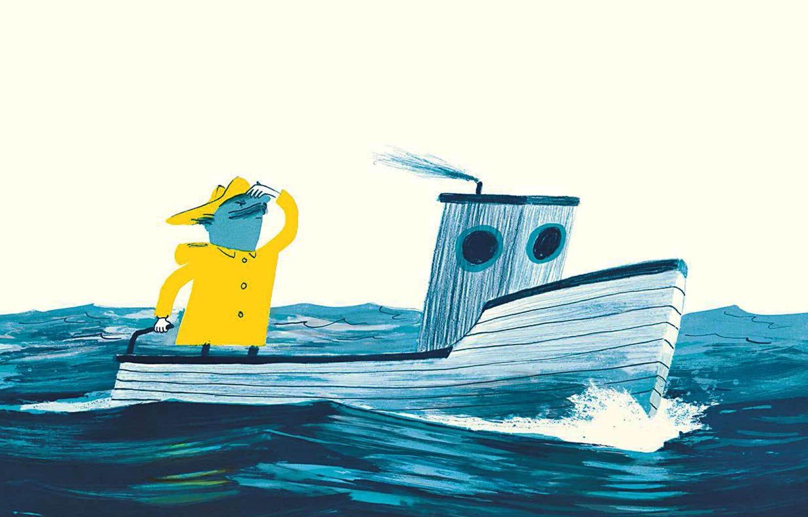 Devant l'immensité inébranlable et le silence de la grande bleue, Fausto se découvrira bien petit, dans la fable poétique «Le destin de Fausto».