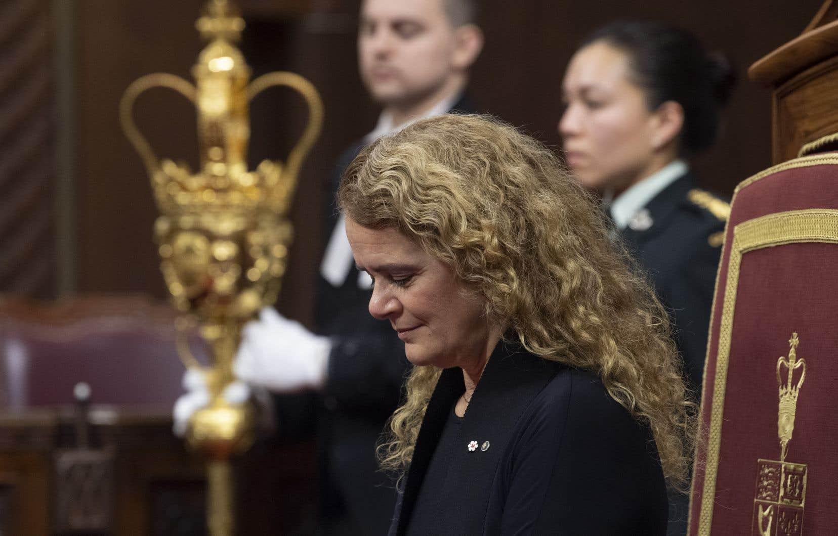 La gouverneure générale du Canada, Julie Payette