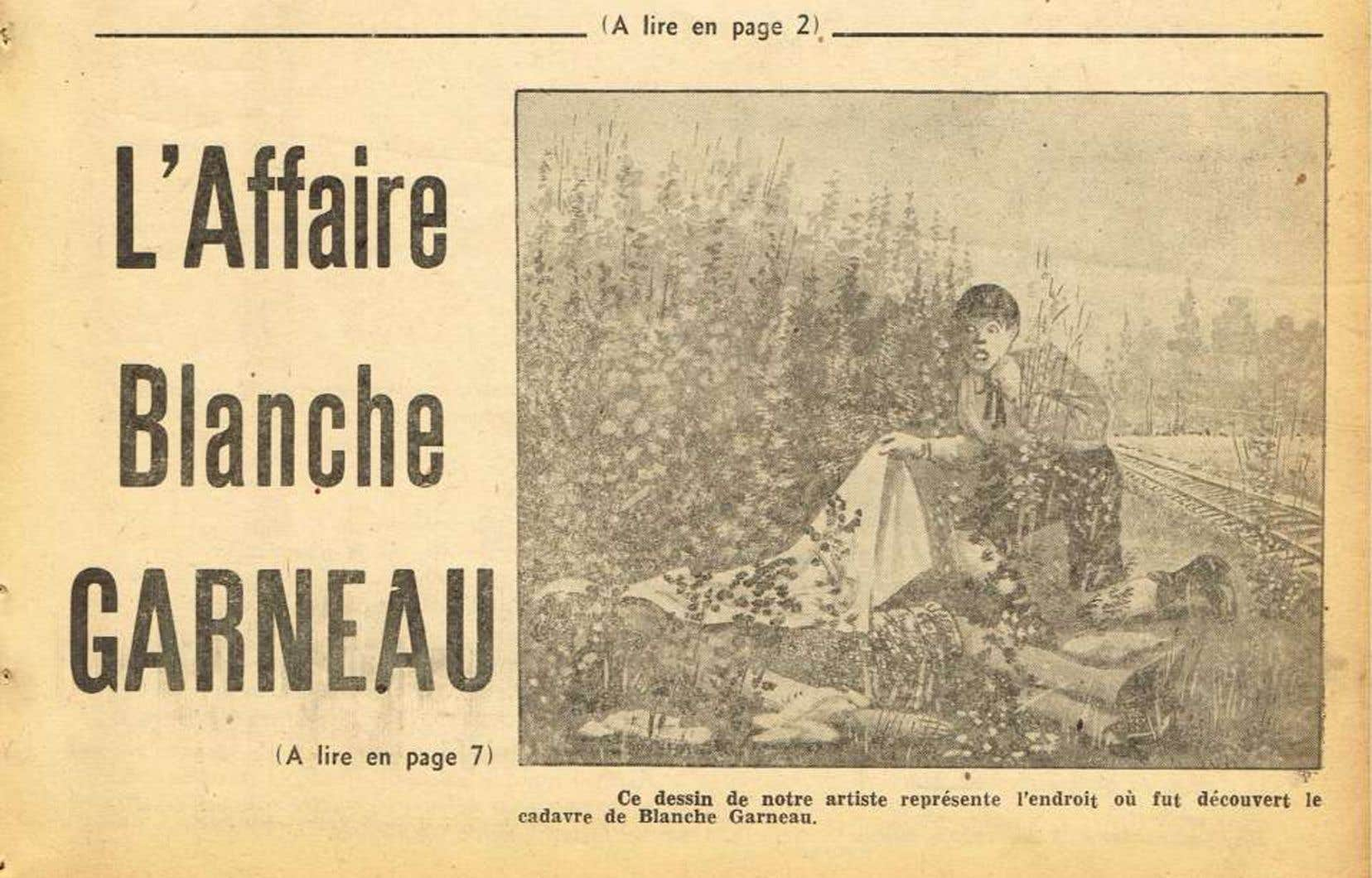 Le souvenir de Blanche est maintenu vivace par la tradition orale et les publications judiciaires comme le «Police Journal» qui lui consacre une série d'articles en 1946.