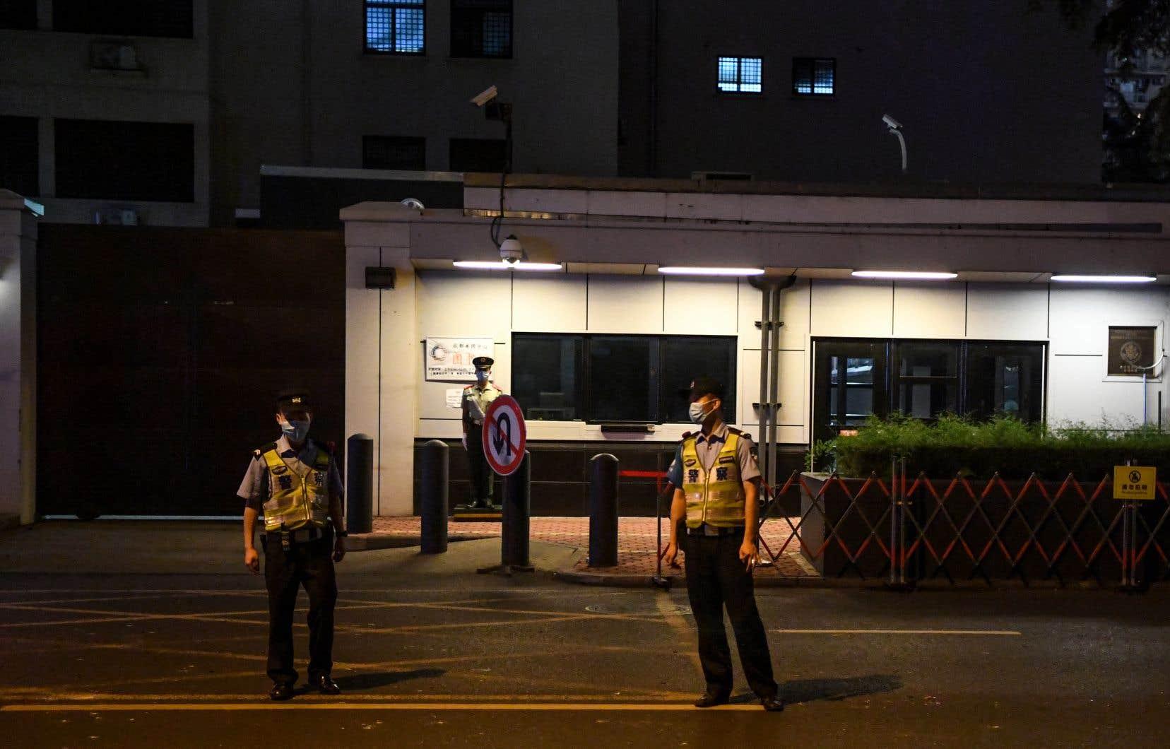 La diplomatie chinoise n'a pas précisé dans quel délai le consulat devrait fermer ses portes.