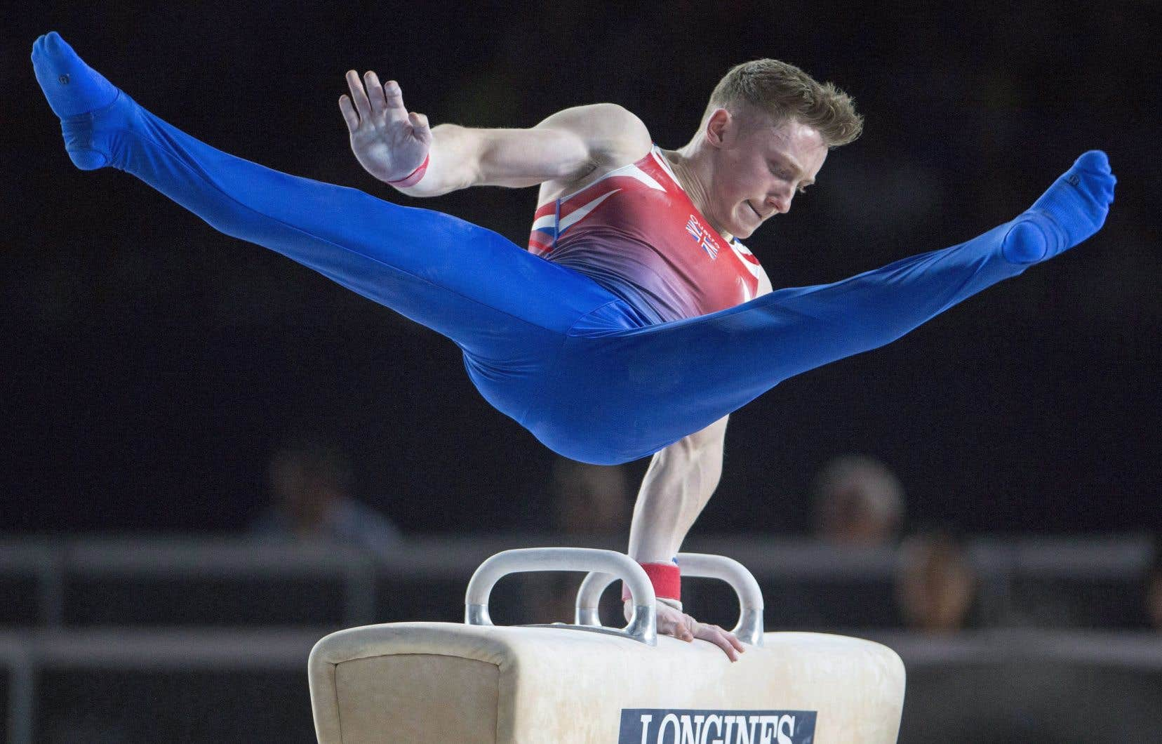 Nile Wilson, un gymnaste britannique, médaillé de bronze aux JO de Rio en 2016