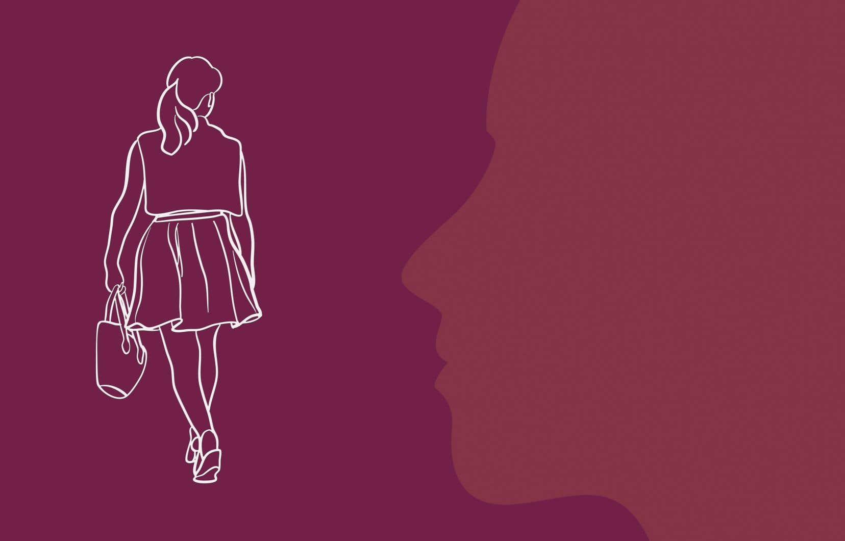 «Les petites filles apprennent très vite à regarder par-dessus leurs épaules. Et à s'enfuir. Si elles ont le temps», écrit l'autrice.