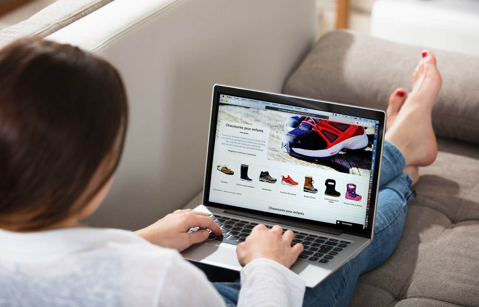 Sur un an, les ventes du commerce électronique ont plus que doublé, avec une augmentation de 110,8% comparativement à mai 2019.
