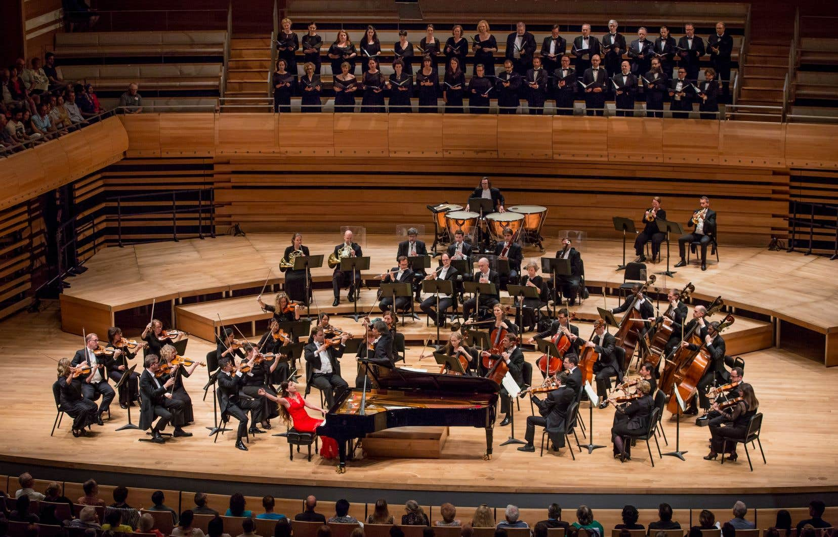 Alors que les orchestres des États-Unis tirent un trait les uns après les autres sur leur année 2020, les perspectives restent positives pour le milieu du classique au Québec.