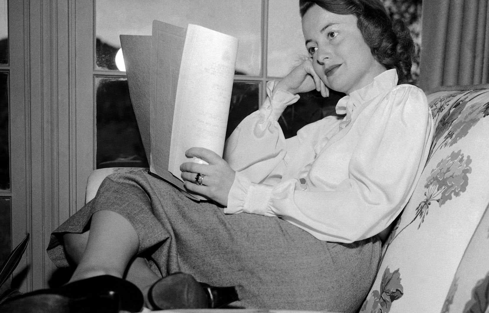 Olivia de Havilland en 1948. L'actrice, connue pour son rôle de la gentille Melanie Wilkes dans «Autant en emporte le vent», est décédée dimanche à l'âge de 104 ans.