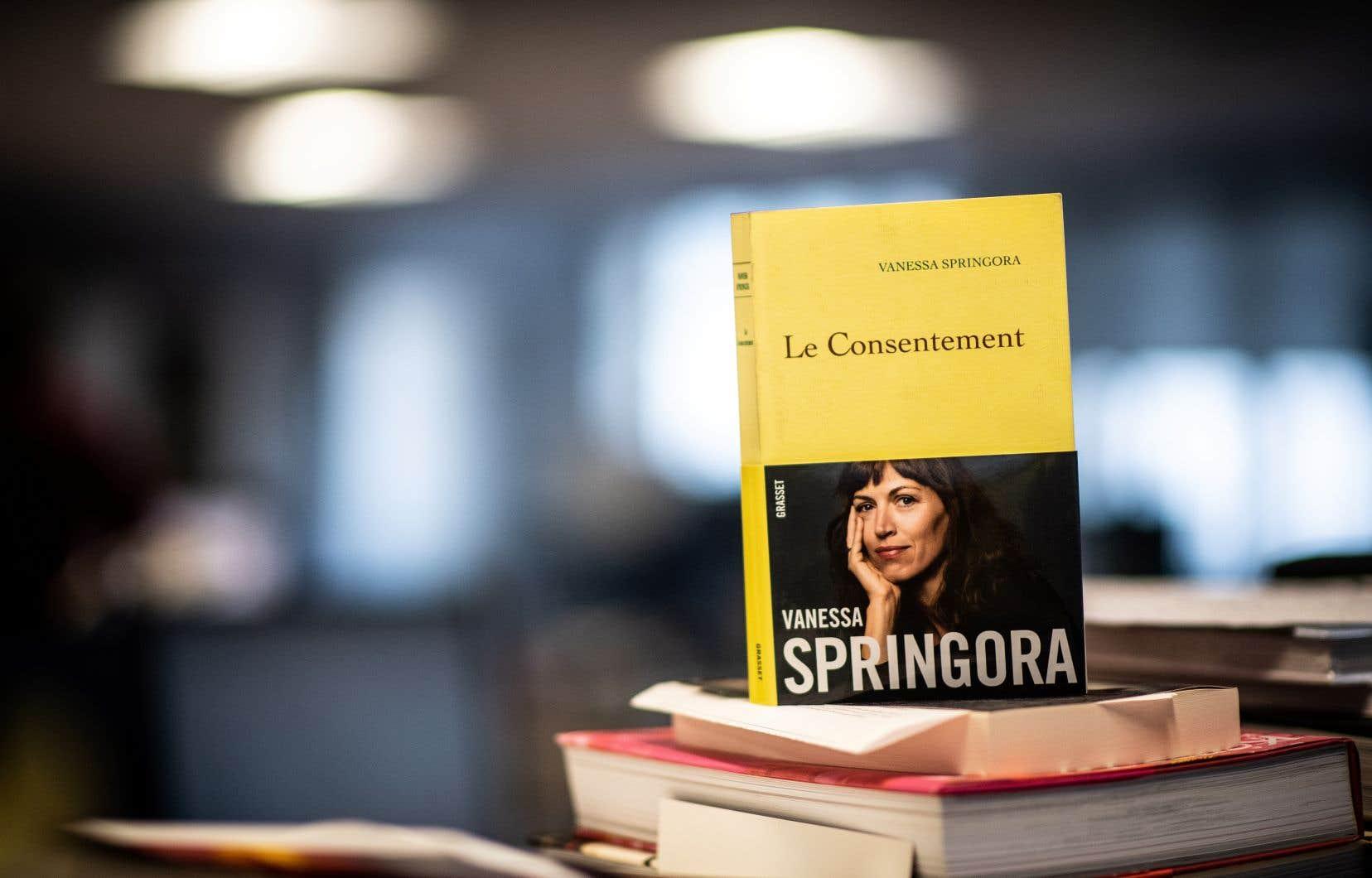 Le livre de Vanessa Springora, «Le consentement», s'est vendu à plus de 180 000 exemplaires.