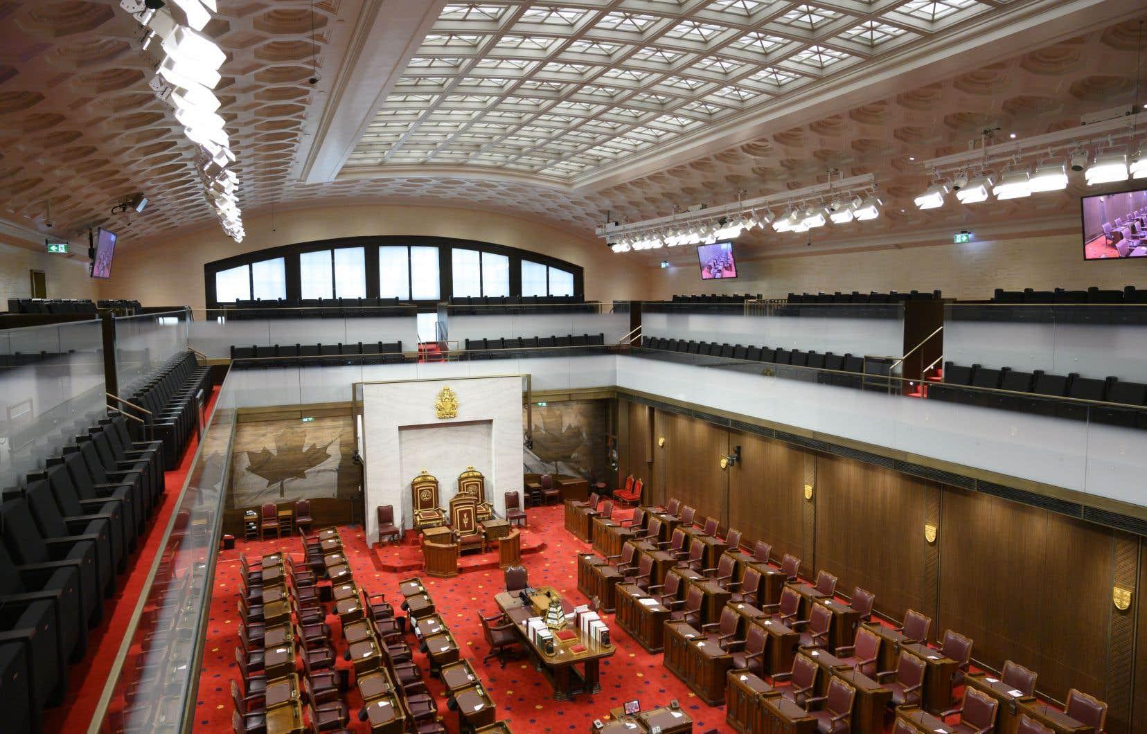 Le projet de loi C-20 a été adopté par la chambre haute sans amendements.