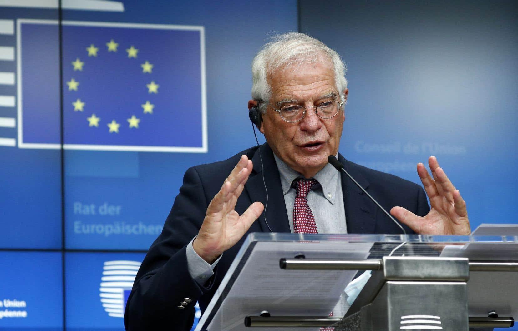 La législation imposée par Pékin va avoir un impact sur les relations de l'UE avec la Chine, avait annoncé récemment le chef de la diplomatie européenne, Josep Borrell.