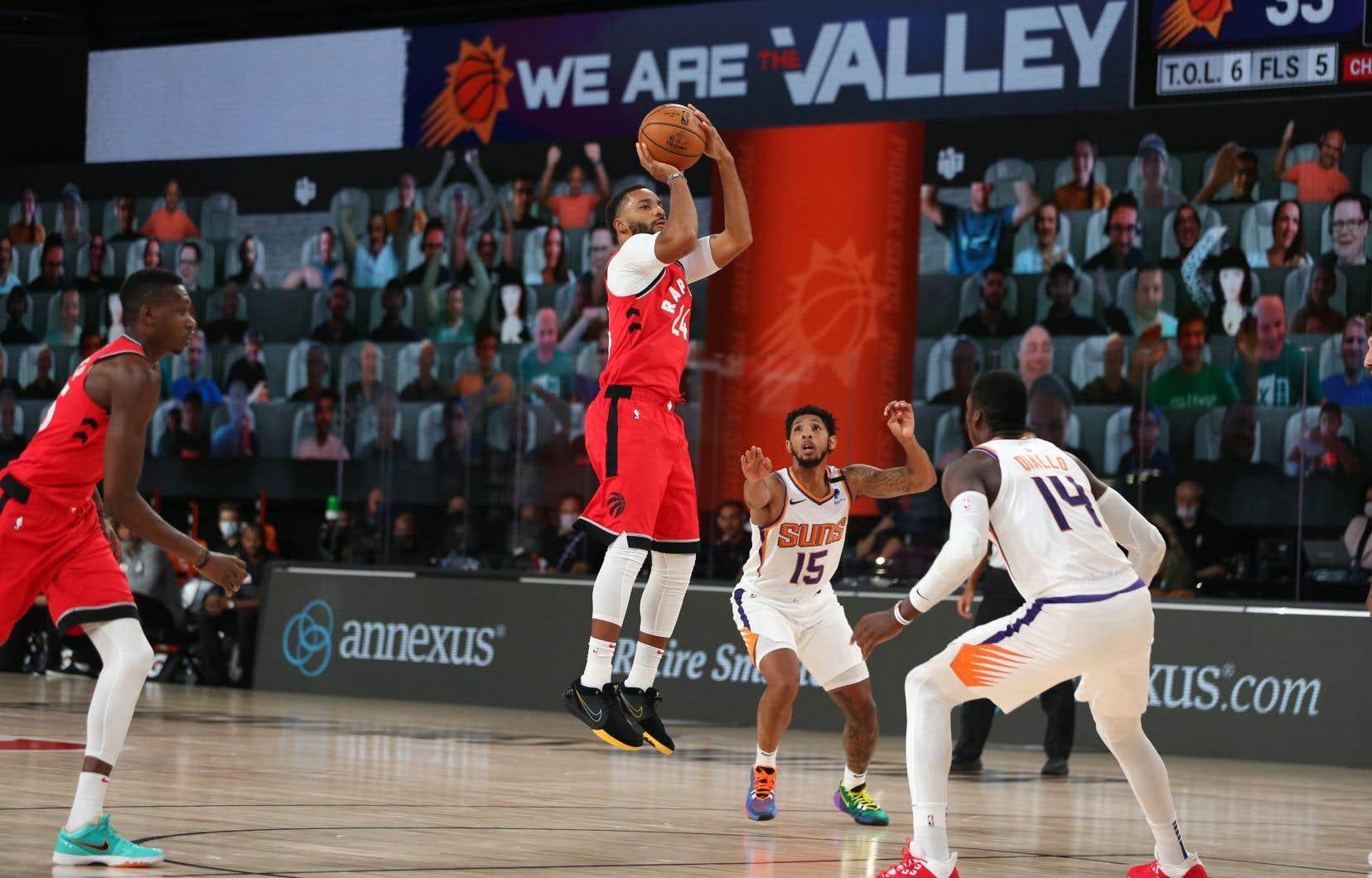 Norman Powell a obtenu 14 points dans la défaite des Raptors de Toronto face aux Suns de Phoenix.