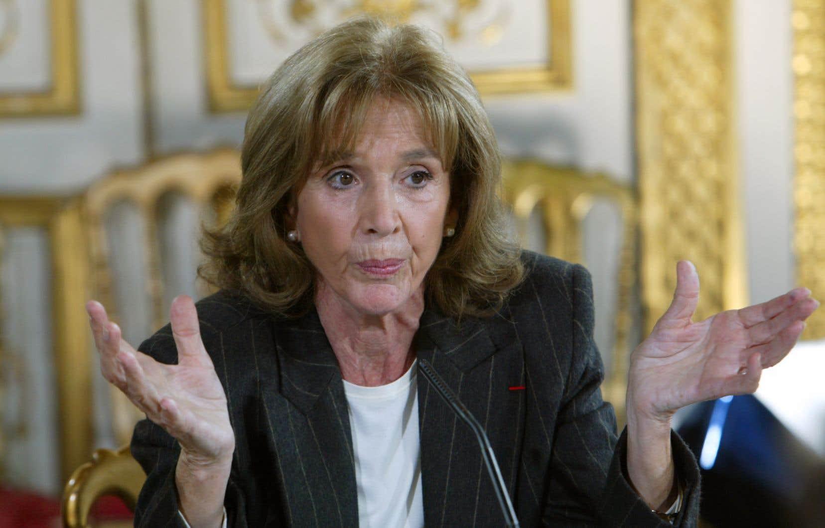 Gisèle Halimi, photographiée à Paris en novembre 2003