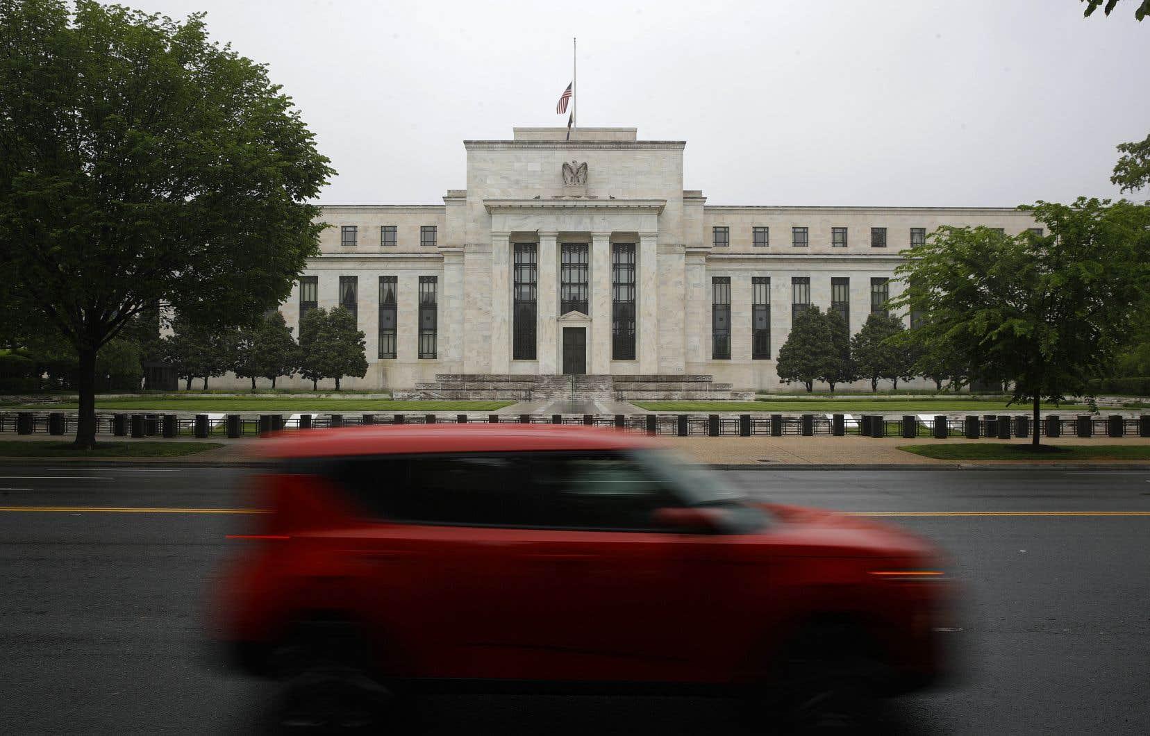 Un bâtiment de la Réserve fédérale des États-Unis, à Washington