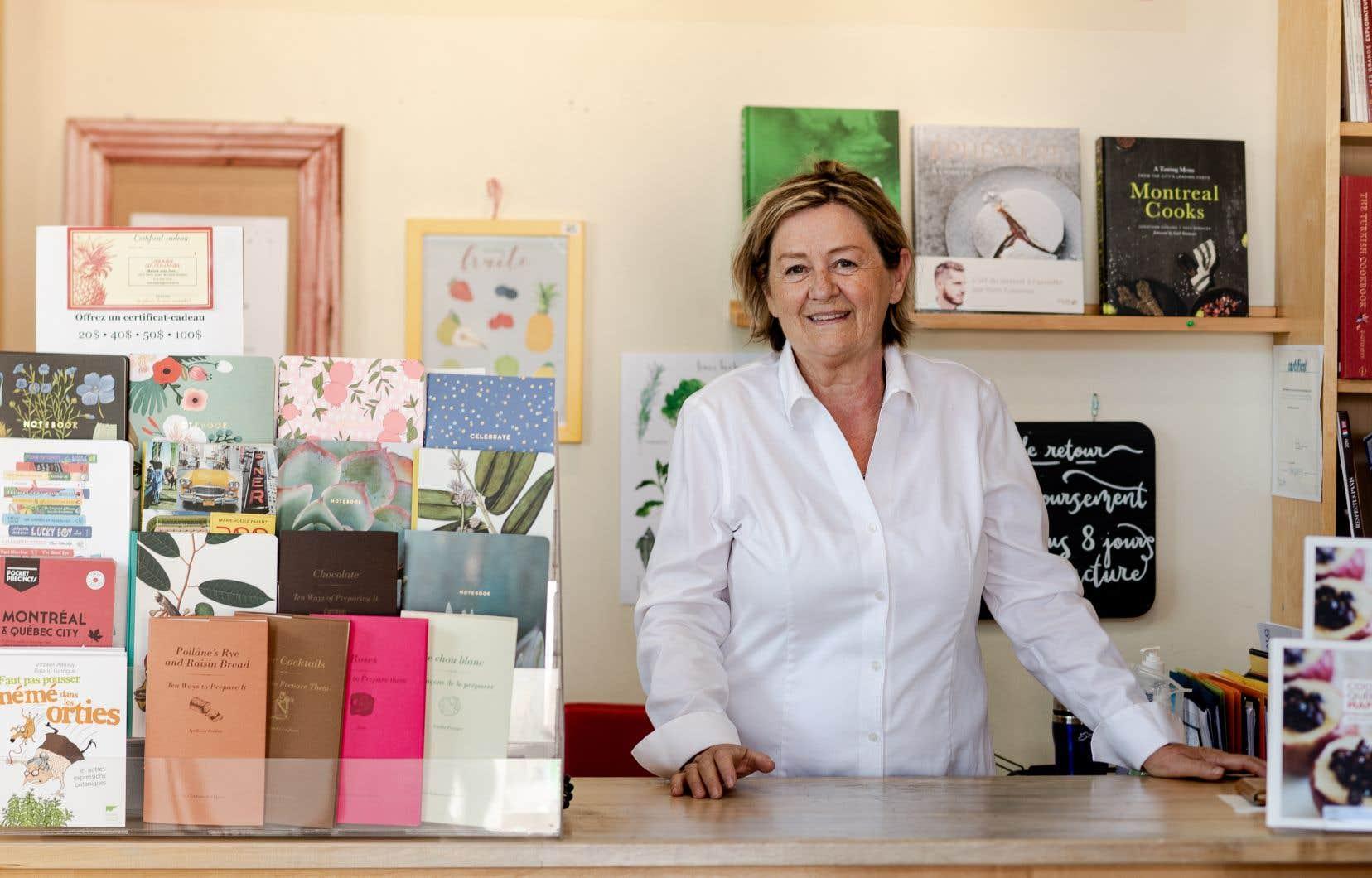 Au fil du temps, Anne Fortin, propriétaire de la Librairie gourmande, est devenue une incontournable actrice de la scène culinaire québécoise.