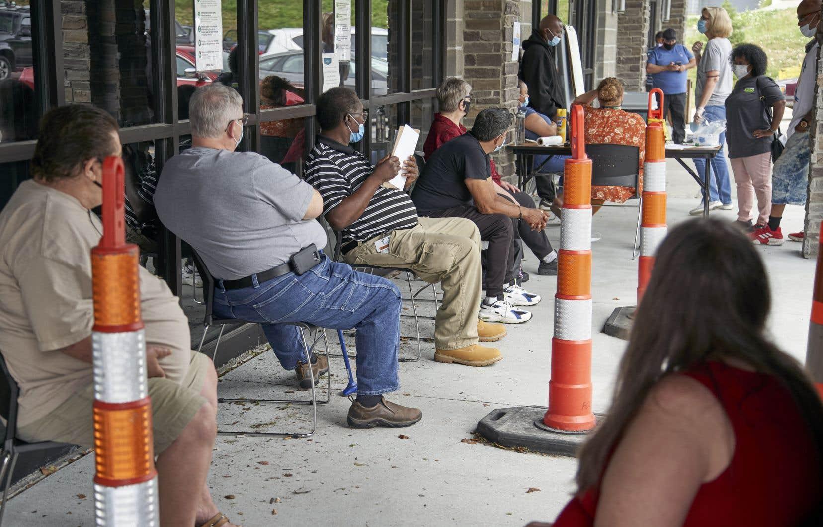Il y a eu1,43 million nouvelles demandes d'allocations chômage la semaine dernière aux États-Unis.