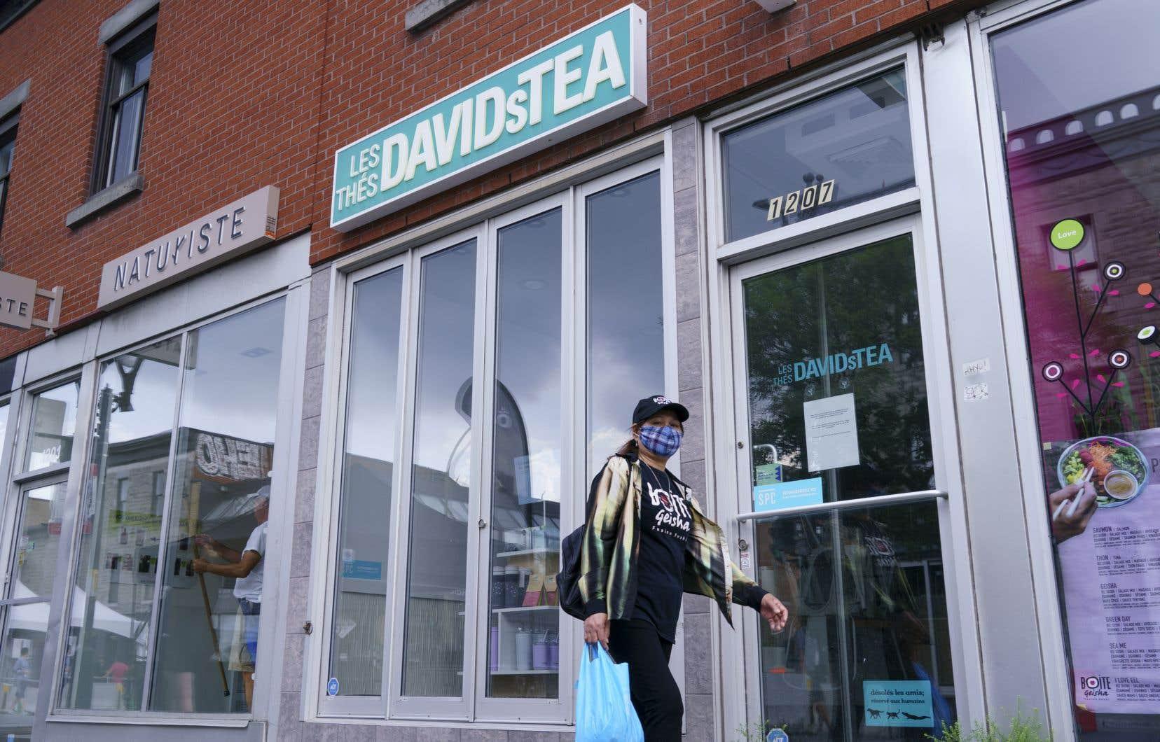 DavidsTea a fait parvenir des avis de résiliation de bail pour ses 82 autres magasins, lesquels prendront effet dans 30 jours.