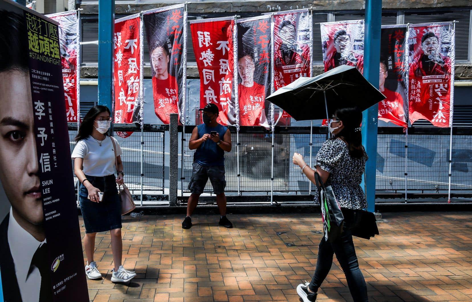 Plus de 600 000 Hongkongais avaient participé mi-juillet aux primaires organisées par le camp prodémocratie dans cette ville de 7,5 millions d'habitants.