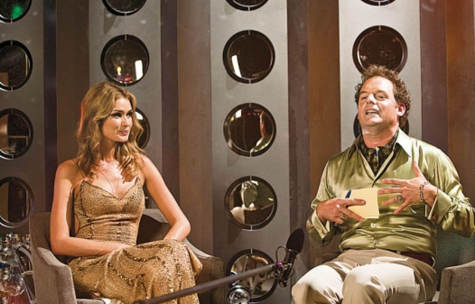 Le clou de la distribution est Paul Doucet (à droite) en grande folle branchée au cœur tendre, dont l'acteur rend avec finesse les facettes de complexité.<br />