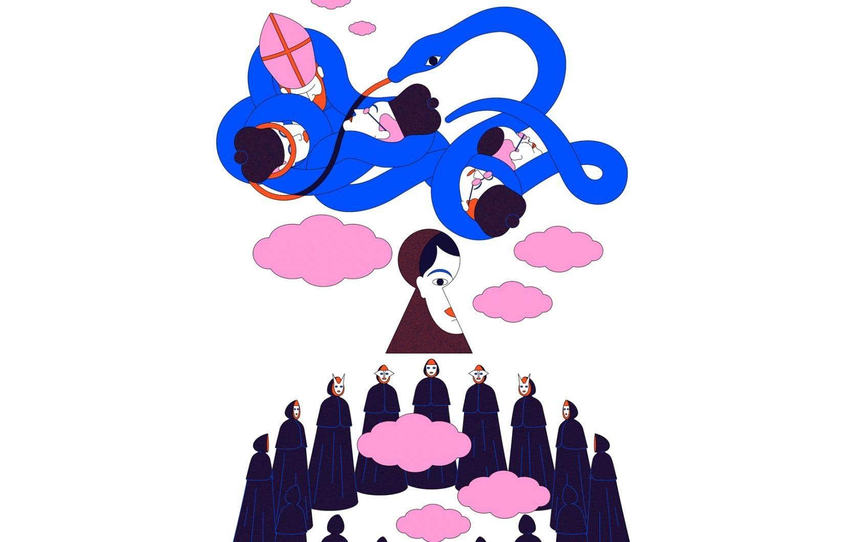 Selon ce que les espions affirment avoir entendu à la séance maçonnique du 11février, les membres de L'Émancipation ont mis sur pied un projet de complot contre l'Église catholique lors du Congrès eucharistique international, qui doit se tenir à Montréal en septembre.