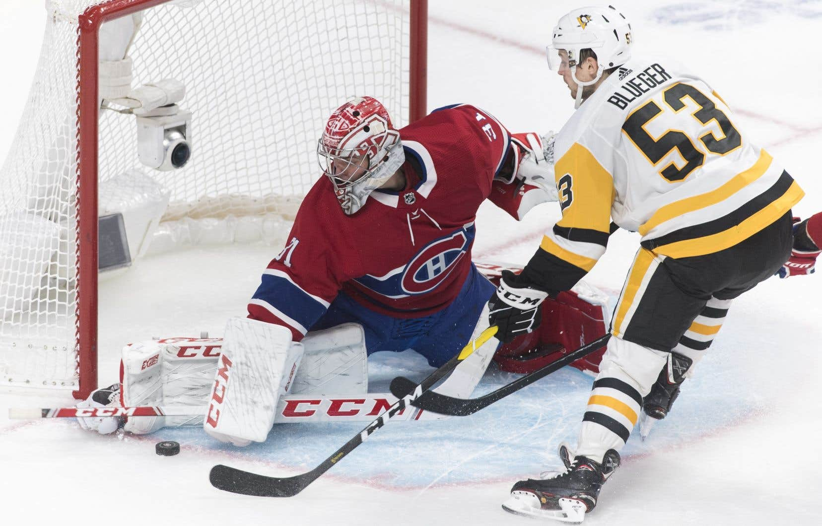 Les Penguins sont largement favoris dans cette série. Ils avaient 15 points de plus que le Tricolore au compteur, avec deux rencontres de moins, lorsque la saison de la LNH a été mise sur pause le 12 mars à cause de la pandémie.