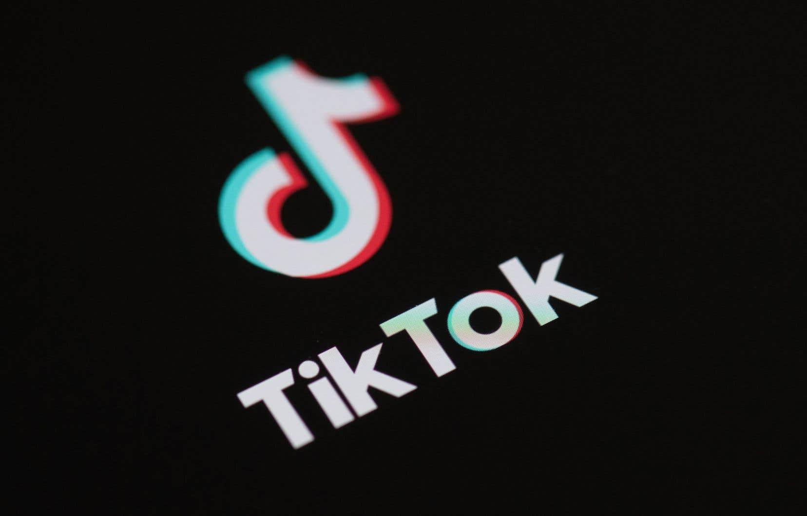 Le réseau social TikTok, qui appartient au groupe chinois ByteDance, compte près d'un milliard d'utilisateurs dans le monde.