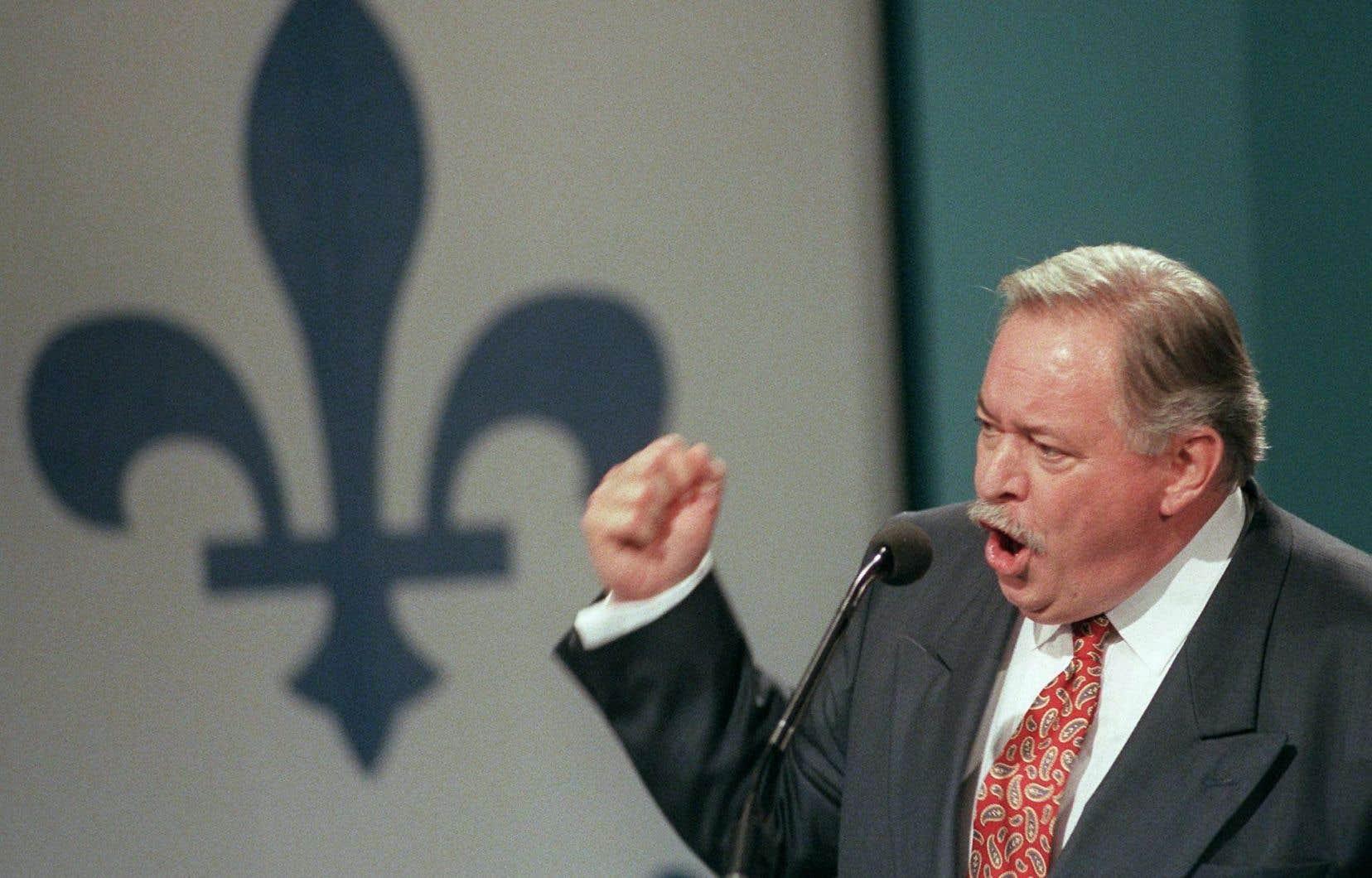 L'ancien premier ministre du Québec, Jacques Parizeau
