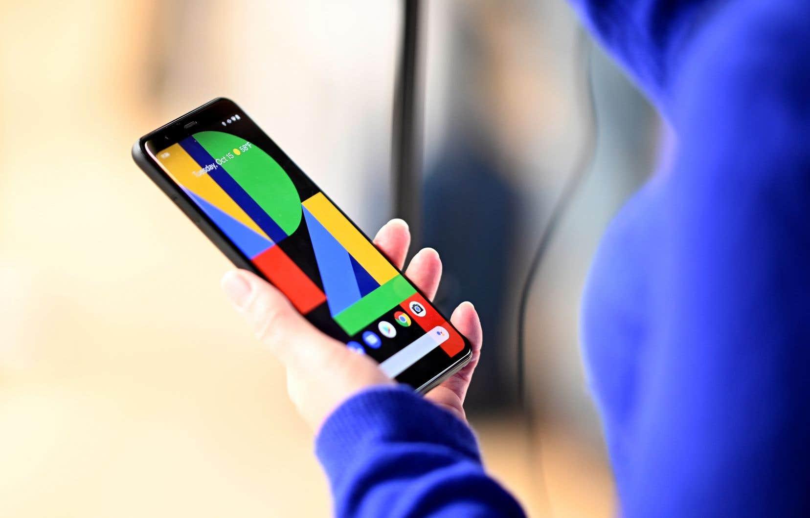 Google a présenté lundi un nouveau téléphone intelligent d'entrée de gamme, le Pixel 4a, qui sera moitié moins cher que le Pixel 4 lancé l'automne dernier.