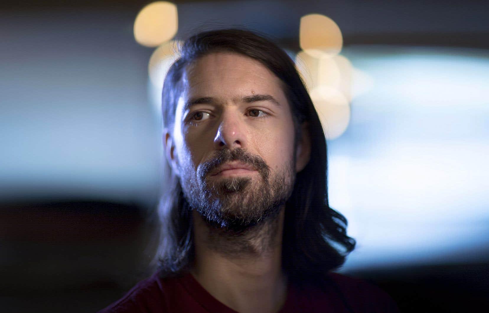 L'auteur-compositeur Félix Dyotte