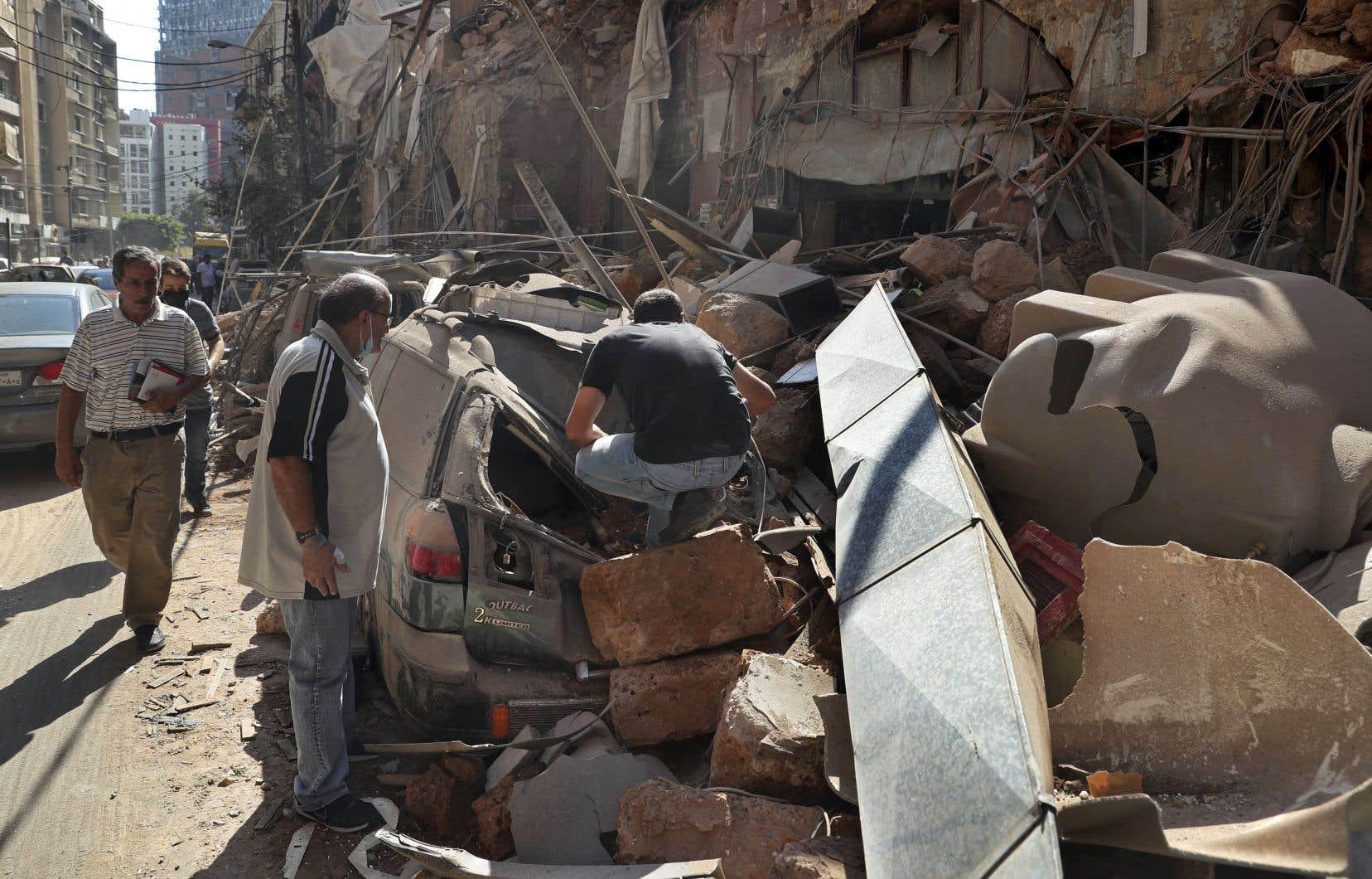 L'explosion survenue mardi à Beyrouth est la plus puissante jamais vue dans la ville, avec un rayon de destruction de plusieurs kilomètres.