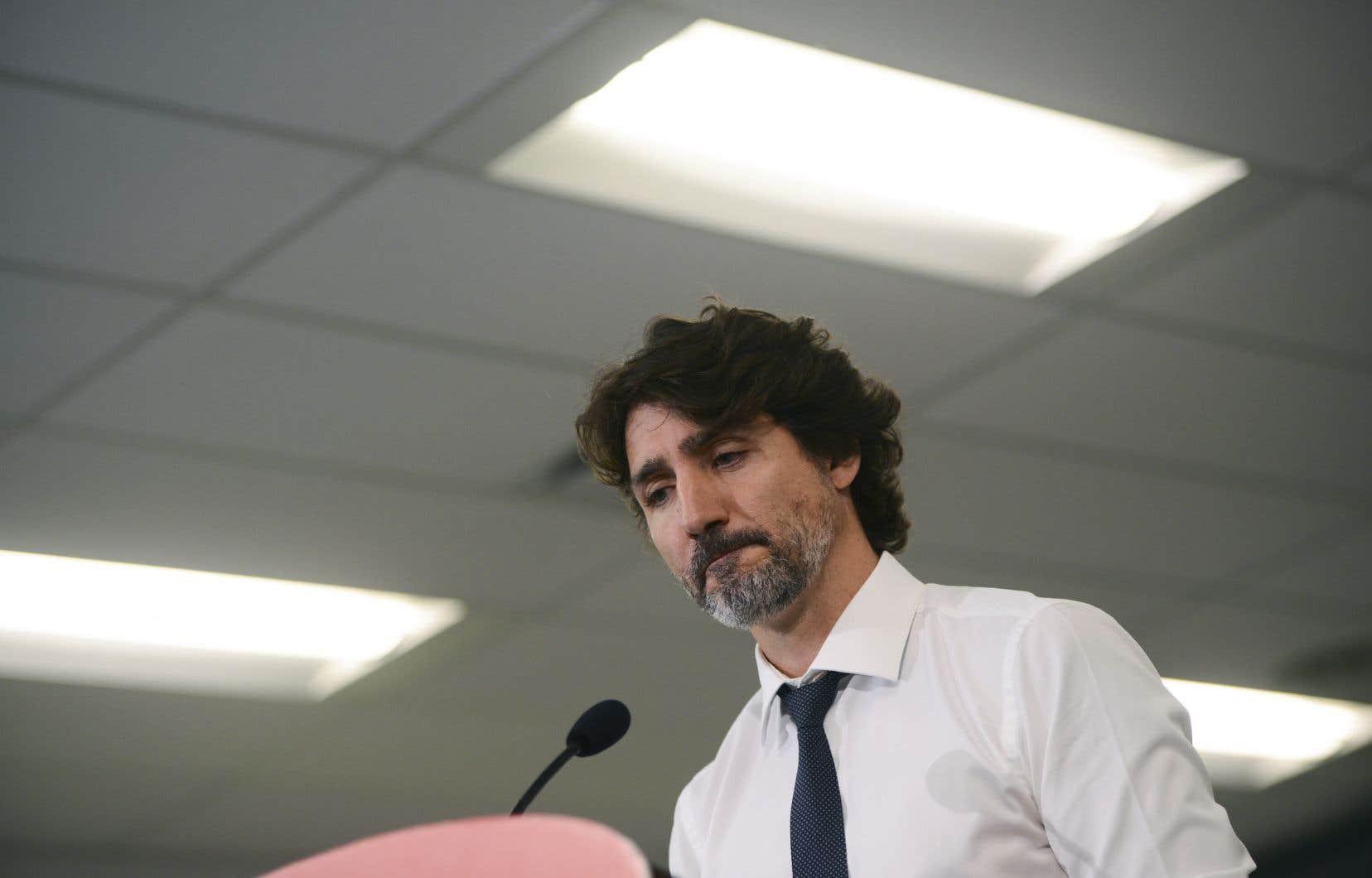 La moitié des répondants ont soutenu que l'affaire UNIS avait «aggravé» leur opinion sur Justin Trudeau.