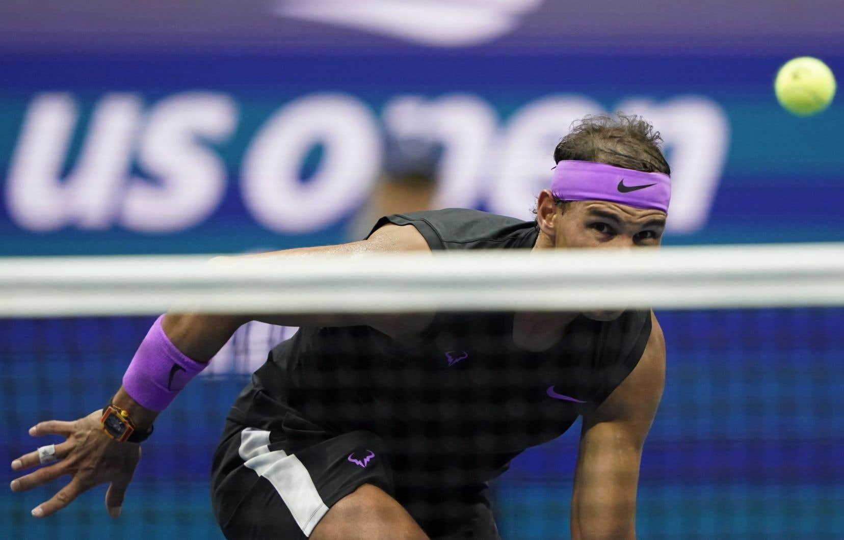 Le champion en titre, l'Espagnol Rafael Nadal ne participera pas aux Internationaux des États-Unis en raison de la pandémie de coronavirus.