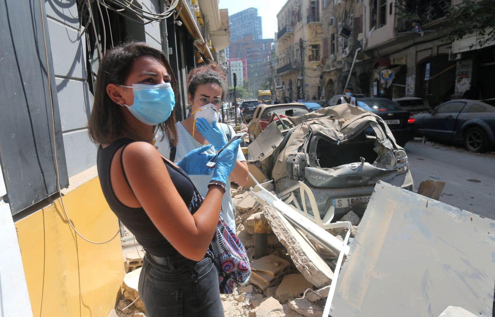 D'autres pays, dont la France et l'Iran ont déjà fait parvenir de l'aide au Liban.