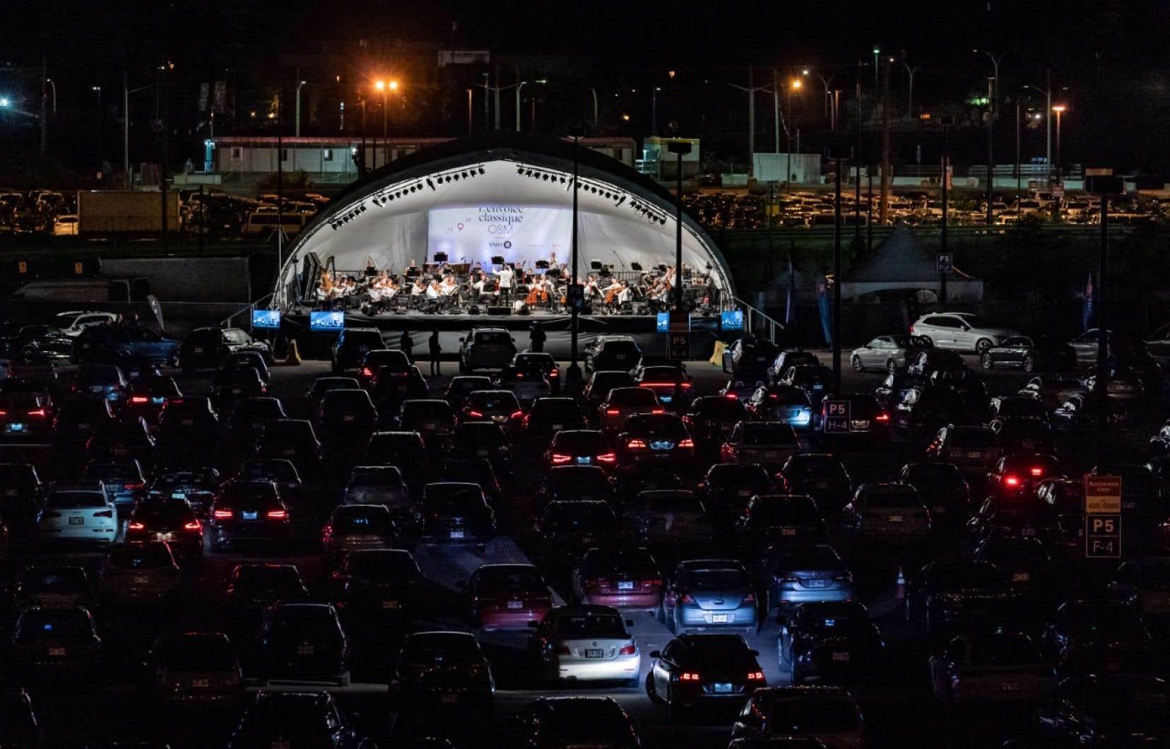L'événement (les tarifs variaient de 100 à 500dollars par voiture pour une capacité de 550 véhicules) a rapporté 165000dollars à l'OSM.