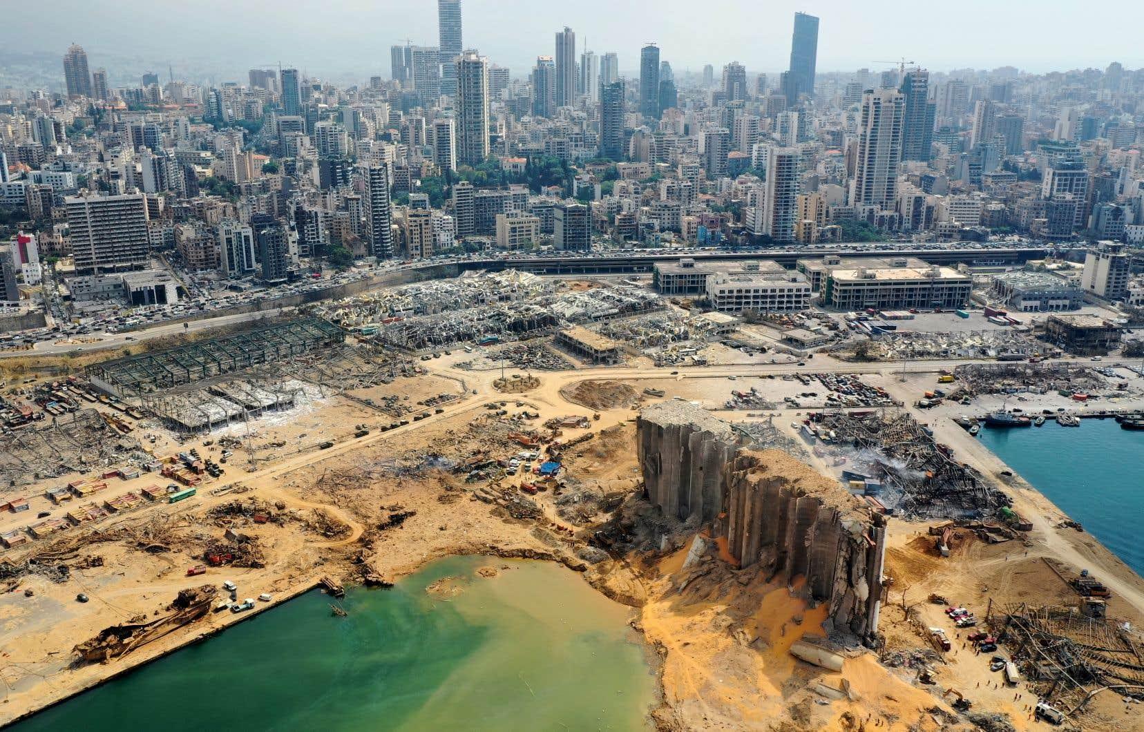 Explosion de fausses nouvelles sur Beyrouth   Le Devoir
