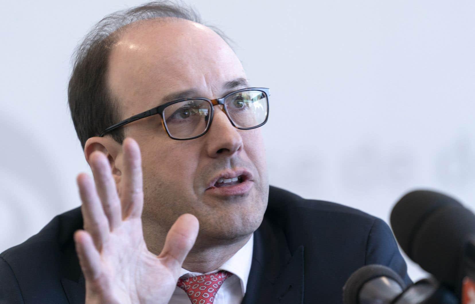La contre-performance de la CDPQ s'explique en partie par le nombre relativement faible d'actions des géants du numérique dans son portefeuille, selon son grand patron, Charles Émond.