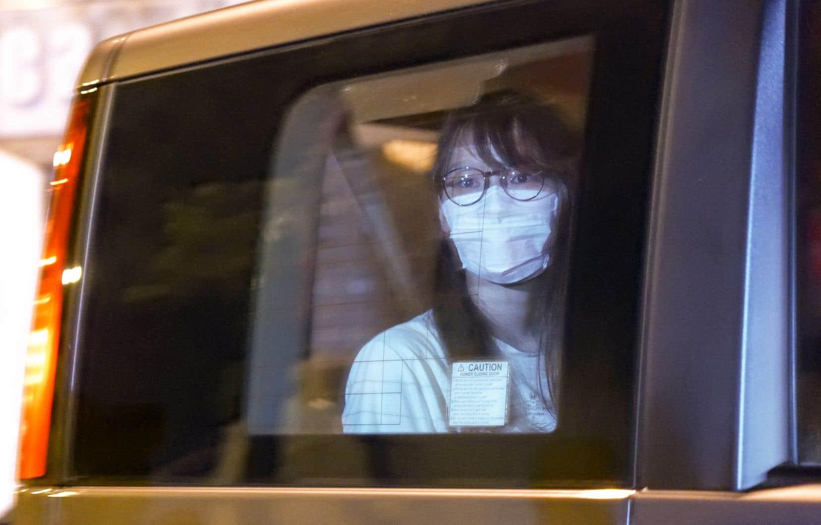 La militante pro-démocratie Agnes Chow a été arrêtée lundi pour «incitation à la sécession».