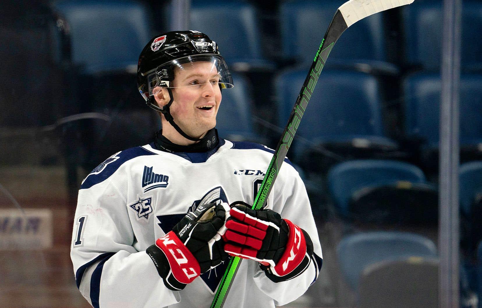 Le Québécois Alexis Lafrenière est favori pour être le tout premier choix au prochain repêchage de la LNH.