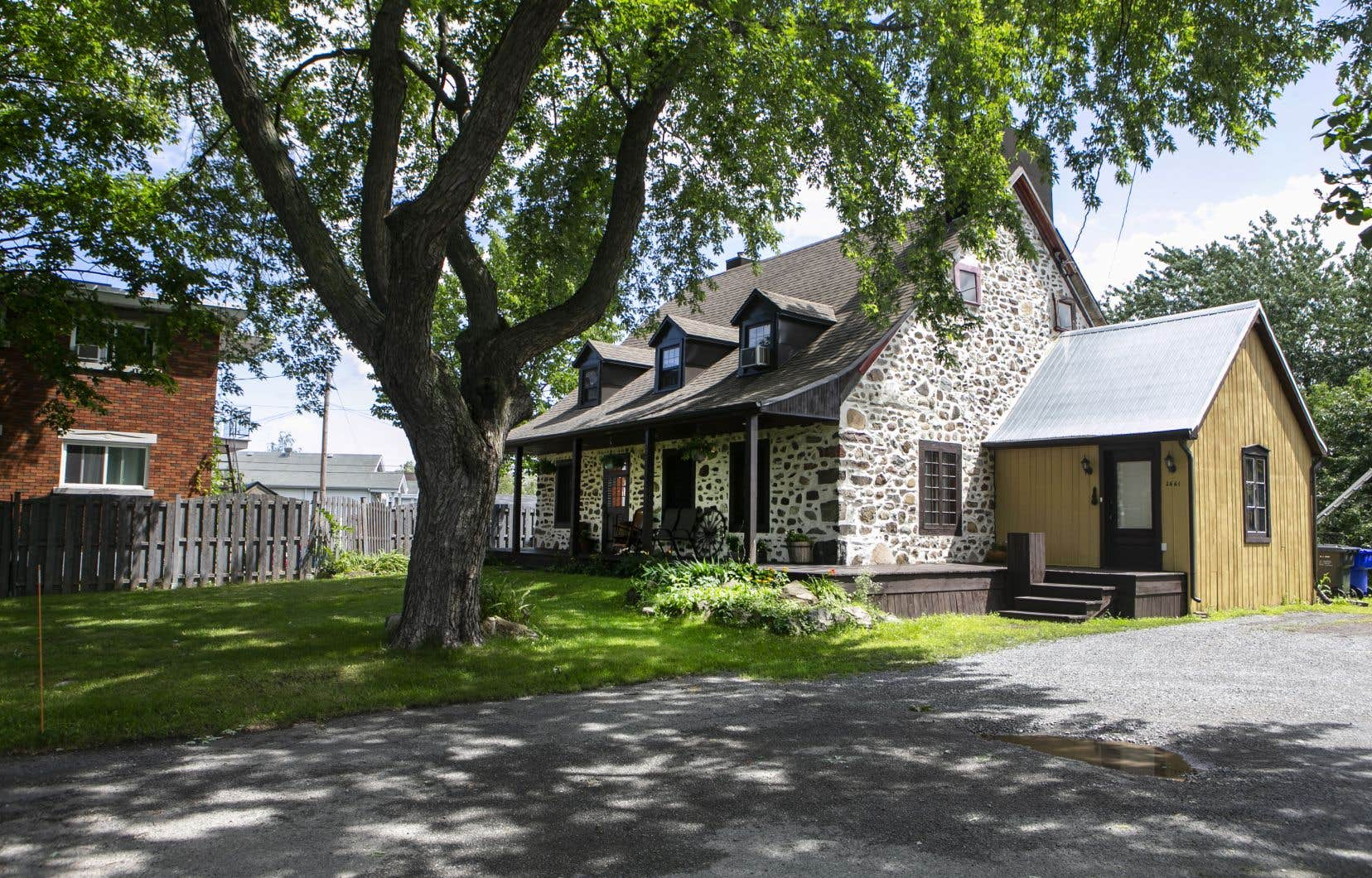 Cette maison, qui date de l'époque de la Nouvelle-France, a notamment été la propriété, au début du XIX<sup>e</sup>siècle, de Paul Lussier.