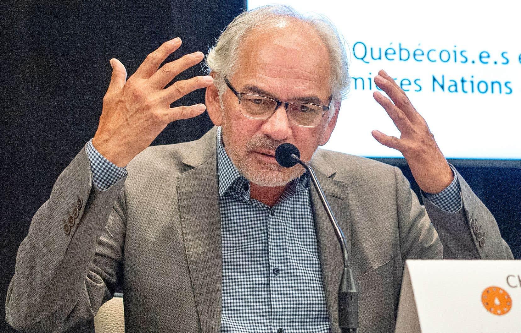 Le chef de l'Assemblée des Premières Nations du Québec-Labrador, Ghislain Picard, déplore le manque d'action du gouvernement Legault et s'est dit «peu inspiré» par le groupe d'action contre le racisme mis en place en juin dernier.